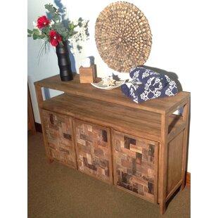 Rosecliff Heights Bailey Mozaik 3 Wooden Door Buffet