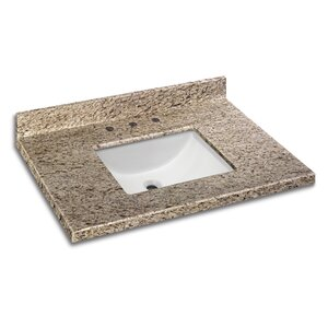 Granite 31″ Single Bathroom Vanity Top