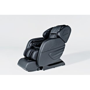 Long Rail 3D Reclining/Full Body Massage/Heated/Zero Gravity Massage Chair by Latitude Run