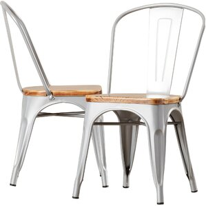 Metal Dining Chairs metal kitchen & dining chairs you'll love | wayfair