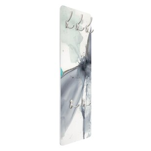 Dragonfly Dance I Wall Mounted Coat Rack By Symple Stuff