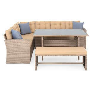 Bodenhamer 8 Seater Rattan Effect Corner Sofa Set By Sol 72 Outdoor
