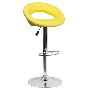 Peralta Adjustable Height Swivel Bar Stoo..