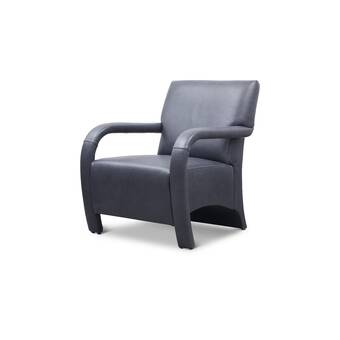 Orren Ellis Crossreagh 29 2 W Top Grain Leather Armchair