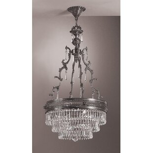 Renaissance 4-Light Empire Chandelier by Classic Lighting