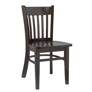 Uxbridge Solid Wood Dining Chair (Set of 2) Charlton Home