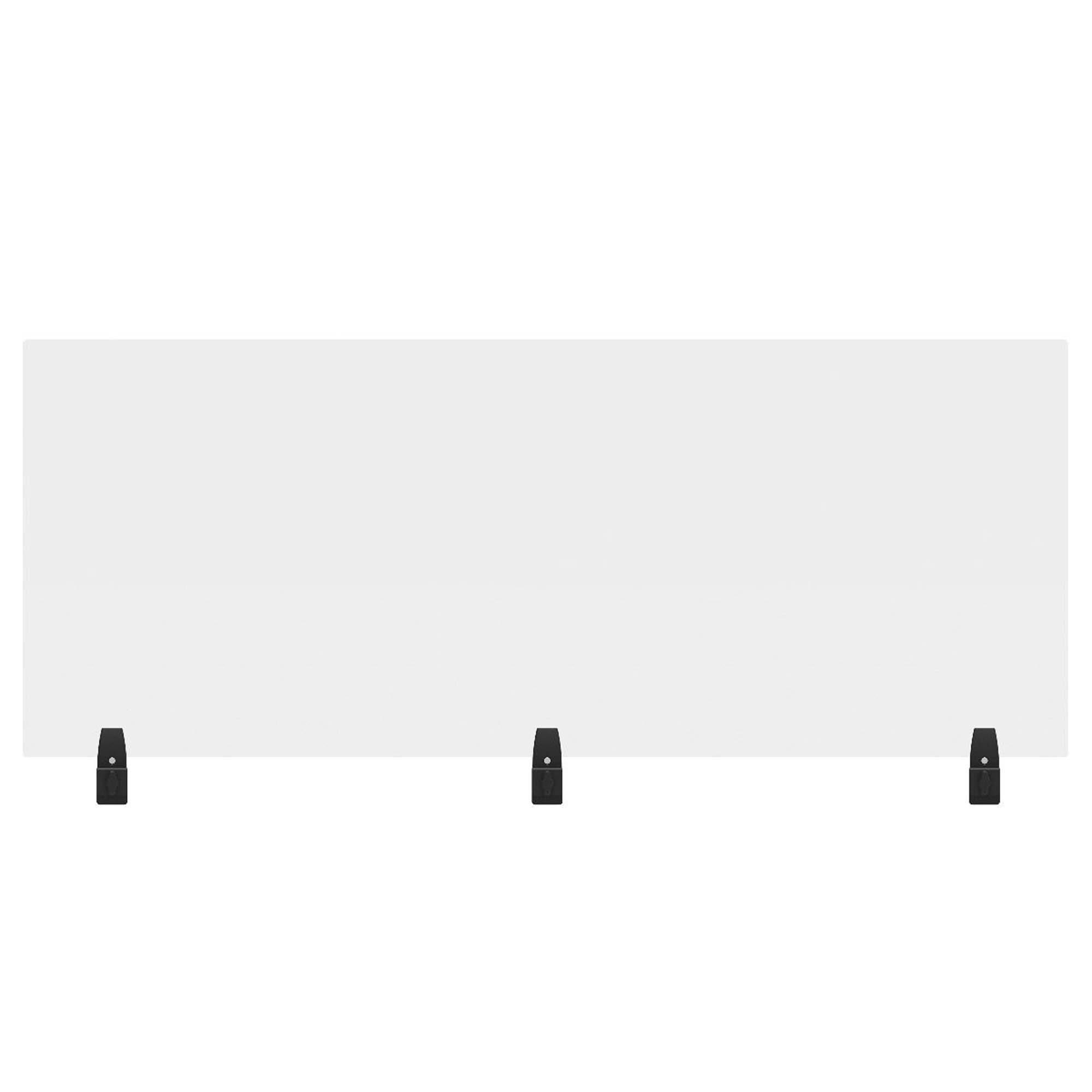 Offex Social Distancing Acrylic 1 Panel Desk Privacy Panel Wayfair