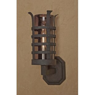 Online Reviews Camelot Outdoor Sconce By Laura Lee Designs