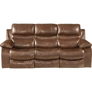 Patton Leather Reclining Sofa