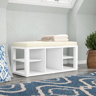 Annsville Wood Storage Bench by Charlton Home
