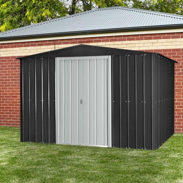 w x 7 ft 9 in d metal storage shed reviews wayfair