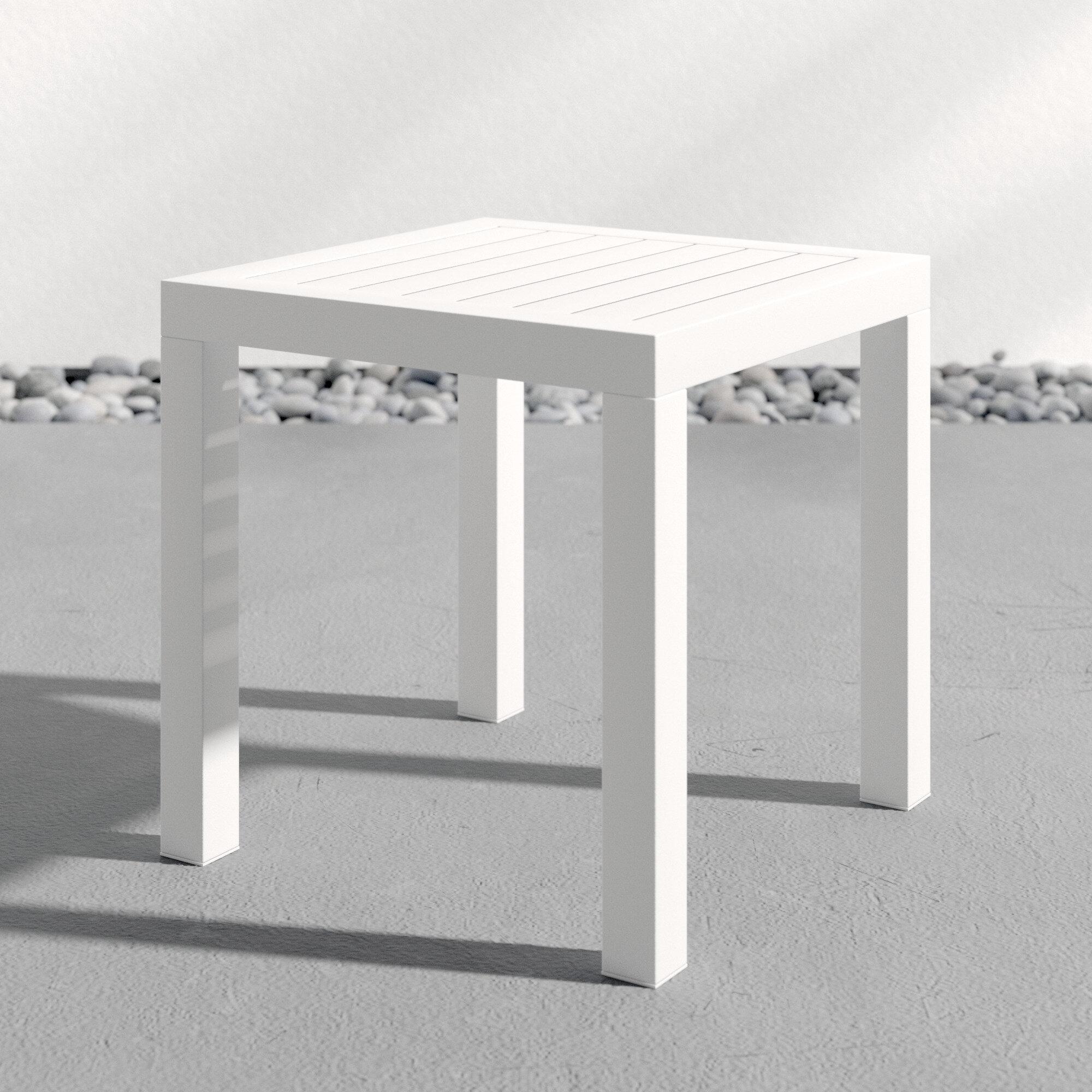 Villani Plastic Side Table