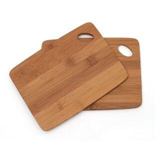Bamboo Cutting Board (Set of 2)