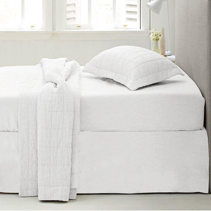 Microfiber 1500 Thread Count Bedskirt Dust Ruffle 14 Bed Skirt