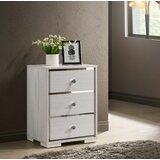 Burdett 3 Drawer Nightstand by House of Hampton®