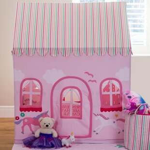 Castle And Unicorn Play Tent By Wrigglebox