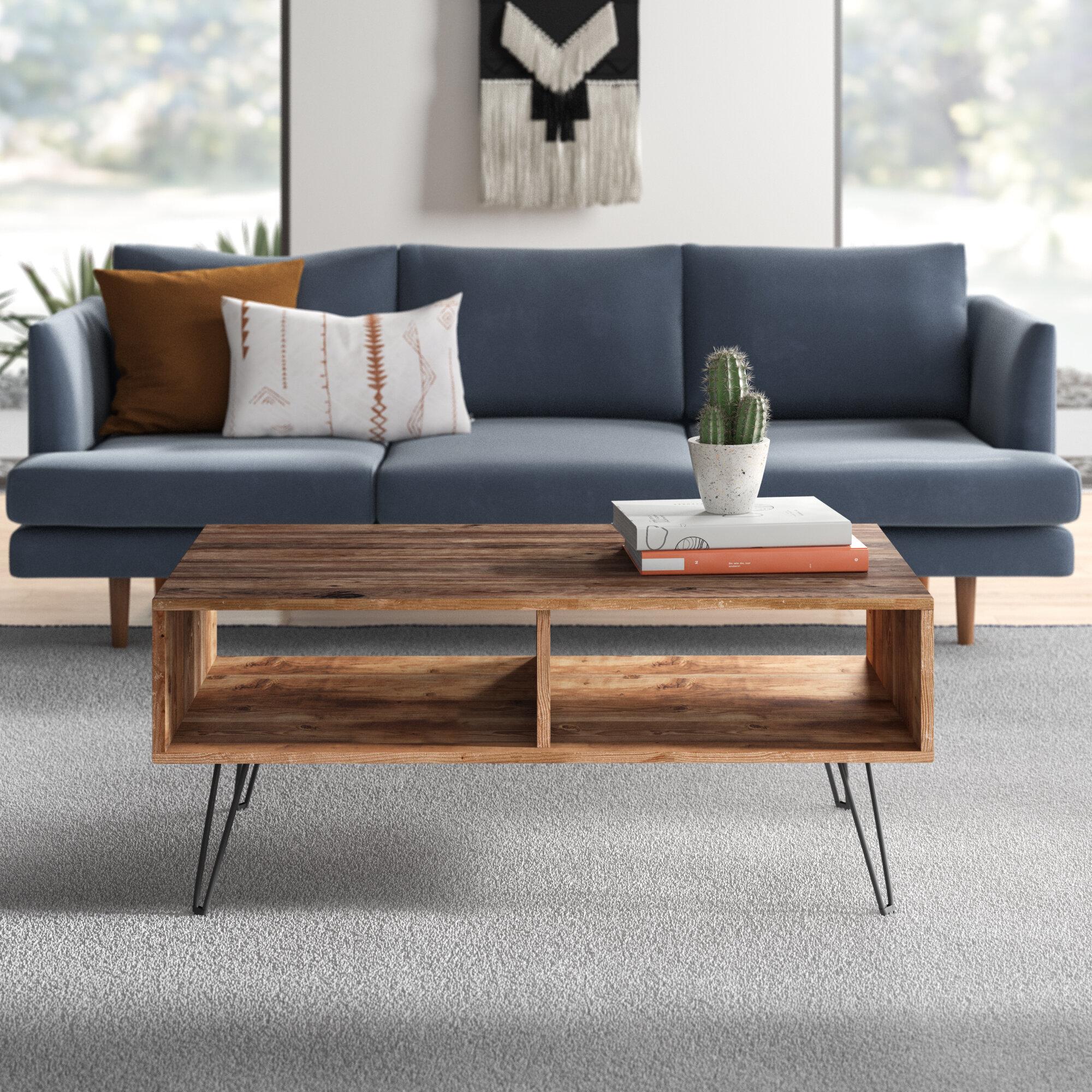 Modern Light Wood Coffee Tables Allmodern