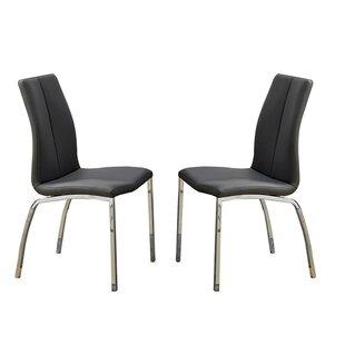 Bobkona Koren Parsons Chair (Set of 2) by Poundex