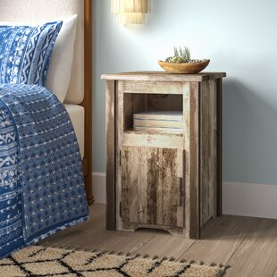Abella Solid Wood End Table