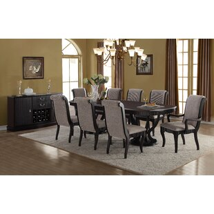 Falmacbreed 7 Piece Solid Wood Dining Set