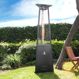 Triangular Commercial Flame 56,000 BTU Patio Heater