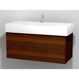 Delos 39 Wall Mount Single Bathroom Vanity