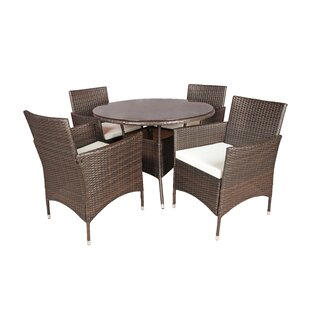 Ivy Bronx Brannigan 5 Piece Dining Set