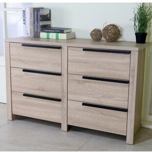 Clegg Spacious 6 Drawer Double Dresser
