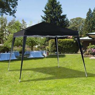 3m X 3m Steel Pop-Up Gazebo By Sol 72 Outdoor