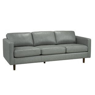 Lassen Genuine Leather Sofa by Brayden Studio