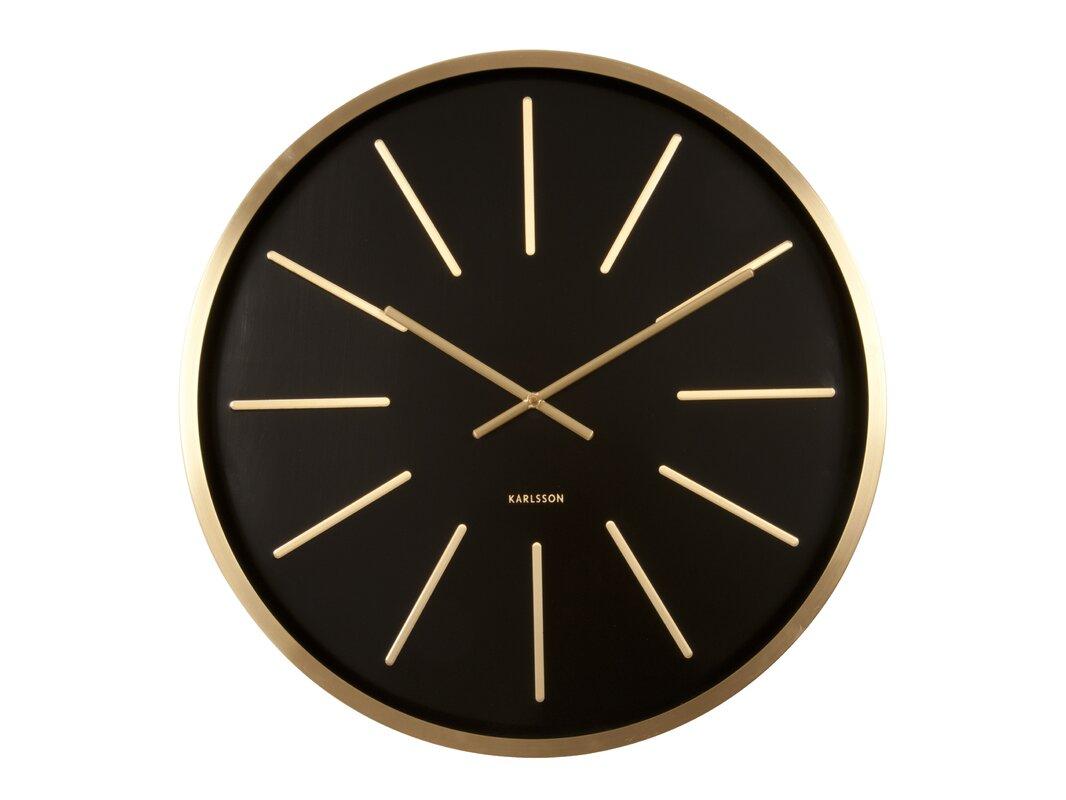 karlsson wanduhr maxiemus world class 60 cm bewertungen. Black Bedroom Furniture Sets. Home Design Ideas