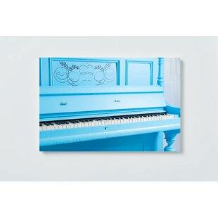 Piano Motif Magnetic Wall Mounted Cork Board By Ebern Designs