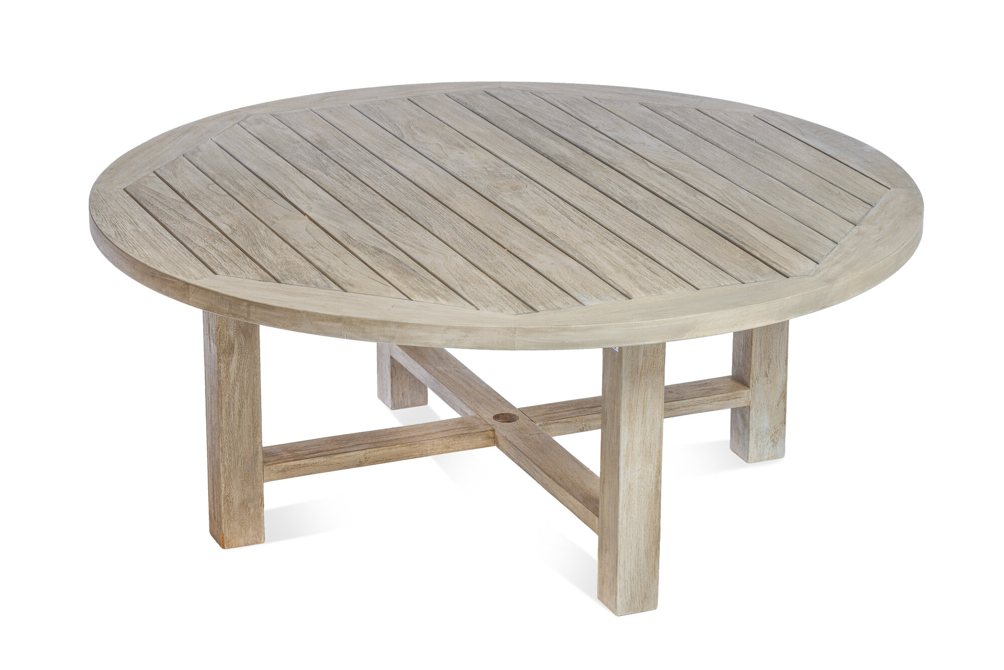 Alvah Solid Wood Coffee Table