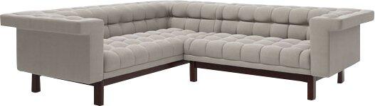Phenomenal George 91X 90 Corner Sectional Sofa Frankydiablos Diy Chair Ideas Frankydiabloscom