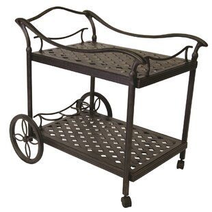 Weeks Bar Cart by Alcott Hill