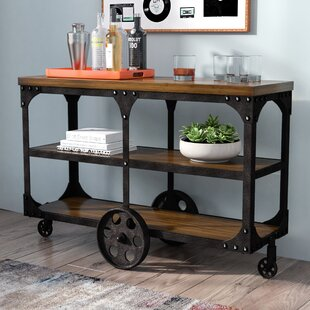 Corinne Wheeled Sofa Table