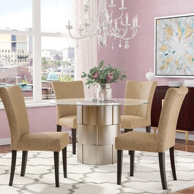 Cliburn 5 Piece Breakfast Nook Dining Set House of Hampton