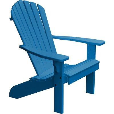 Analia Plastic Adirondack Chair by Beachcrest Home