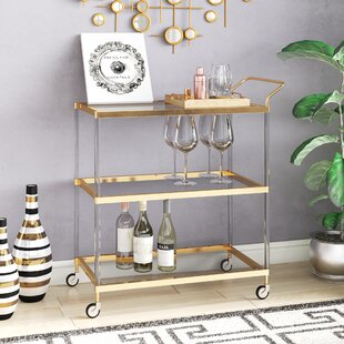 Lagasse Bar Cart by Everly Quinn