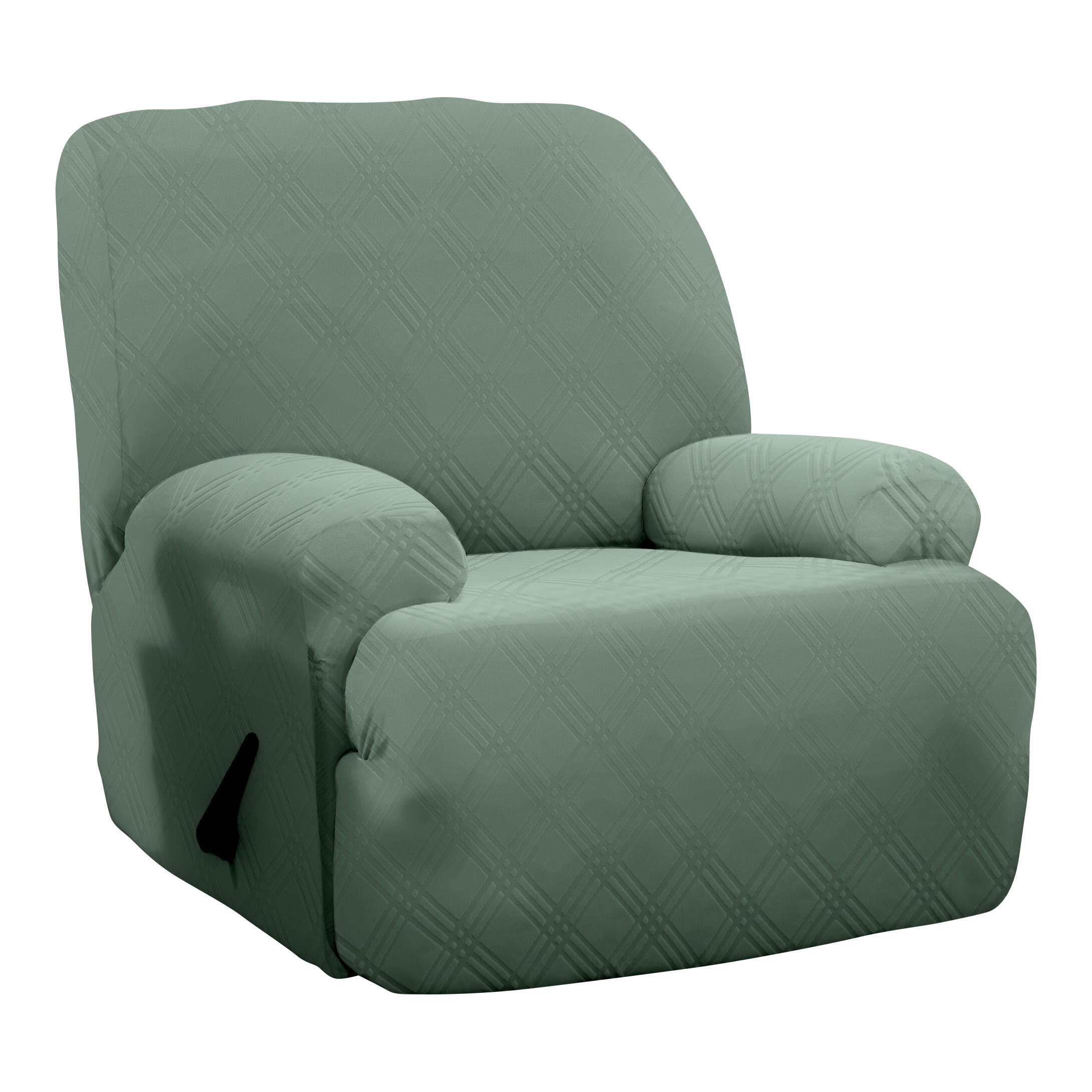 Red Barrel Studio Double Diamond Sensations Box Cushion Recliner Slipcover Reviews Wayfair