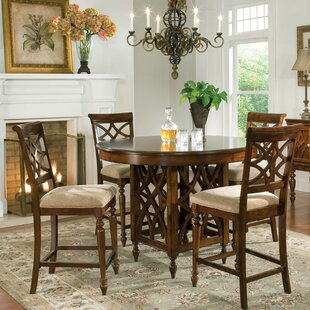 Blue Hills 5 Piece Dining Set by Three Po..