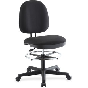 Contoured Height Adjustable Swivel Mid-Back Desk Chair