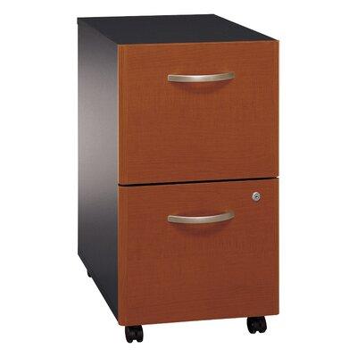 Bush Business Furniture Series C 2 Drawer Vertical File Finish: Hansen Cherry