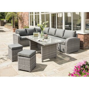 Caryville Garden Corner Sofa With Cushions By Sol 72 Outdoor