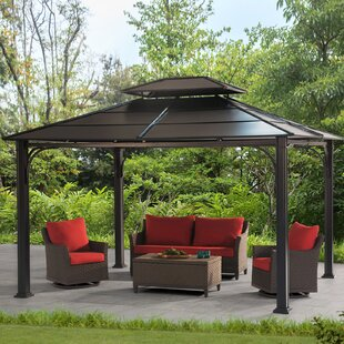 Wonderland 10 Ft. W X 12 Ft. D Steel Patio Gazebo