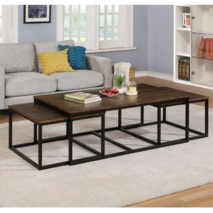 Find the perfect Hensley 3 Piece Coffee Table and Nesting Tables Set by Gracie Oaks Reviews (2019) & Buyer's Guide