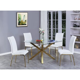Wagner 5 Piece Extendable Dining Set Mercer41