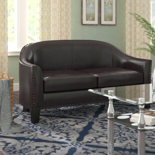 Courtney Banquette Loveseat by Andover Mills Cool