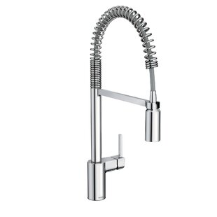 Review Align Pull Down Single Handle Kitchen Faucet with Duralock™ by Moen