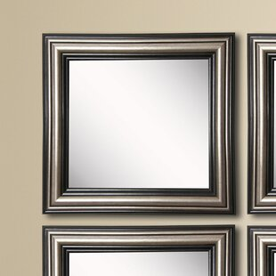Kimzey Antique Silver Wall Mirror (Set of 4) By Charlton Home